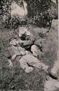 fantassin et infirmier 1914